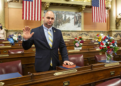Davanzo is Sworn In to Begin First Full Term in House of Representatives